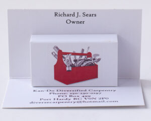Custom Pop Up Business Cards